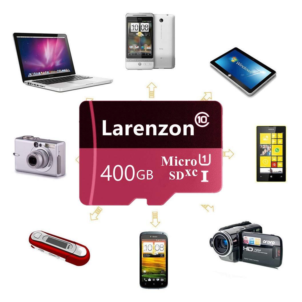 Larenzon - Tarjeta Micro SD (400 GB, microSDXC, 400 GB ...
