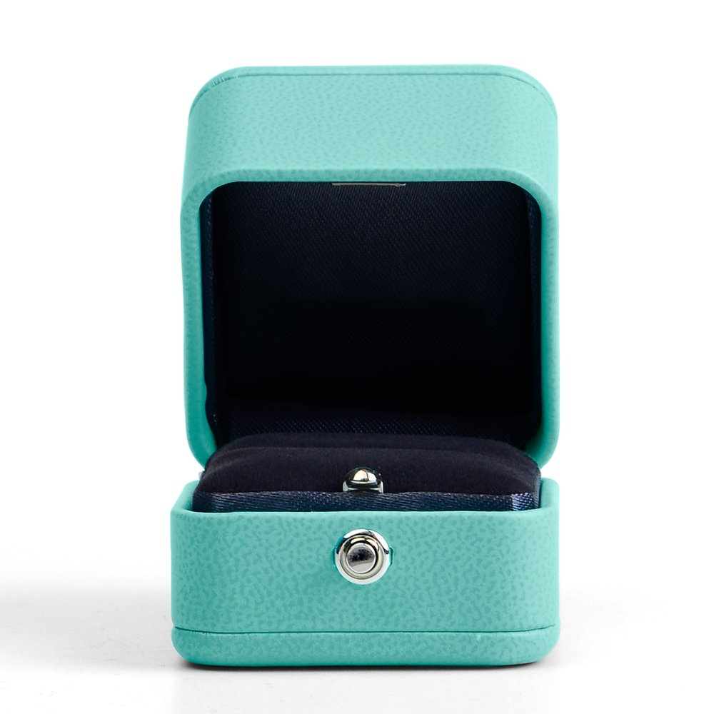 Oirlv Velvet Ring Box Jewelry Gift Case Ring Bearer Box Wedding,Propose