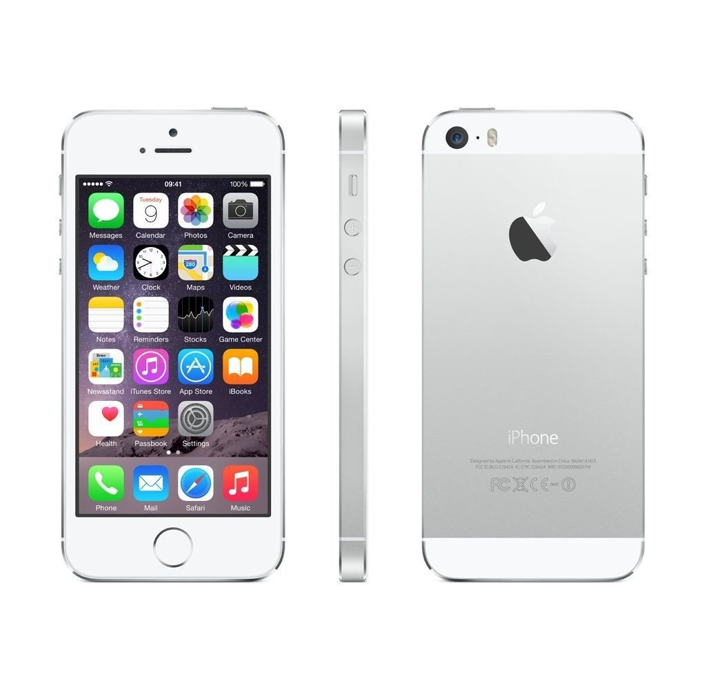 Apple iPhone 5s 16GB - Silver - Unlocked: Amazon.co.uk: Electronics