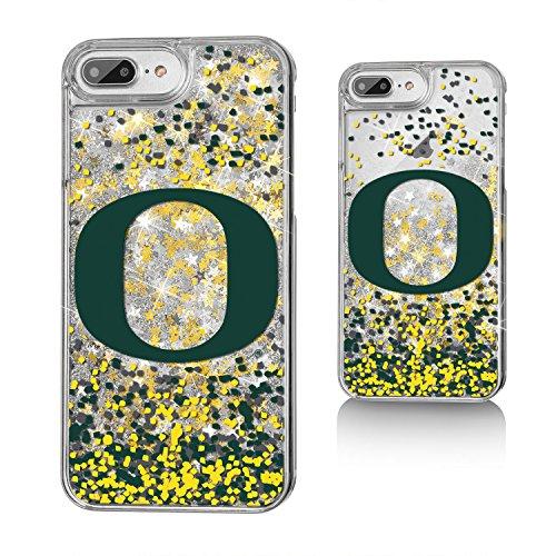 n Ducks UO Confetti Glitter Case for iPhone 8 Plus/7 Plus/6 Plus, Clear ()