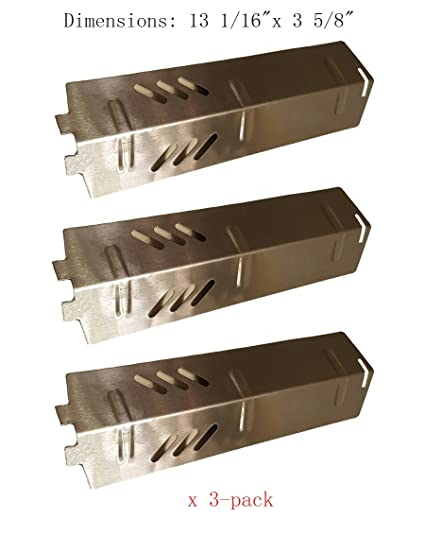SH1561(3-pack) Stainless Steel Heat Plate, Burner Cover, and Flavorizer - Amazon.com : SH1561(3-pack) Stainless Steel Heat Plate, Burner Cover