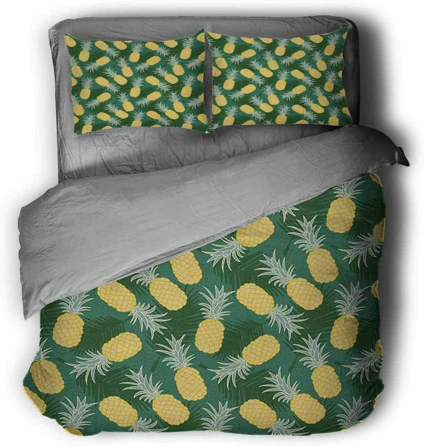 Miles Ralph Hawaii Medium Double Duvet Cover Branch of Arecaceae Tree Polynesian Symbol of Triumph and Victory Spring King Duvet Cover 68x86 inch Cobalt Blue Baby Blue