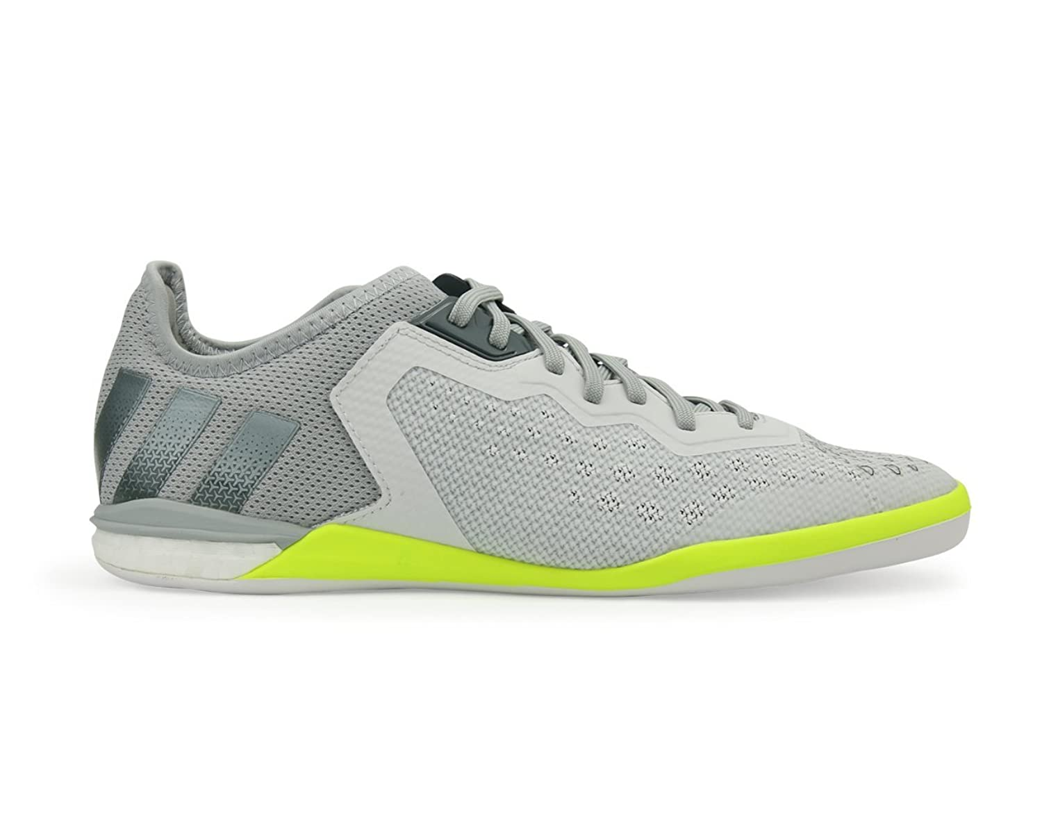 Adidas Men's Ace 16.1 Court Indoor Crystal White/Onix/Solar/Yellow Soccer Shoes