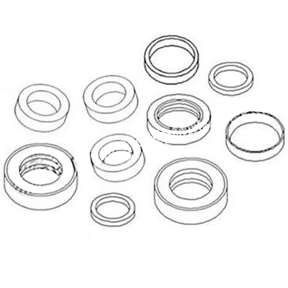 1346357C2-A One New Cylinder Seal Kit Made to Fit Case 921 921C Models Interchangeable with 1346357C2