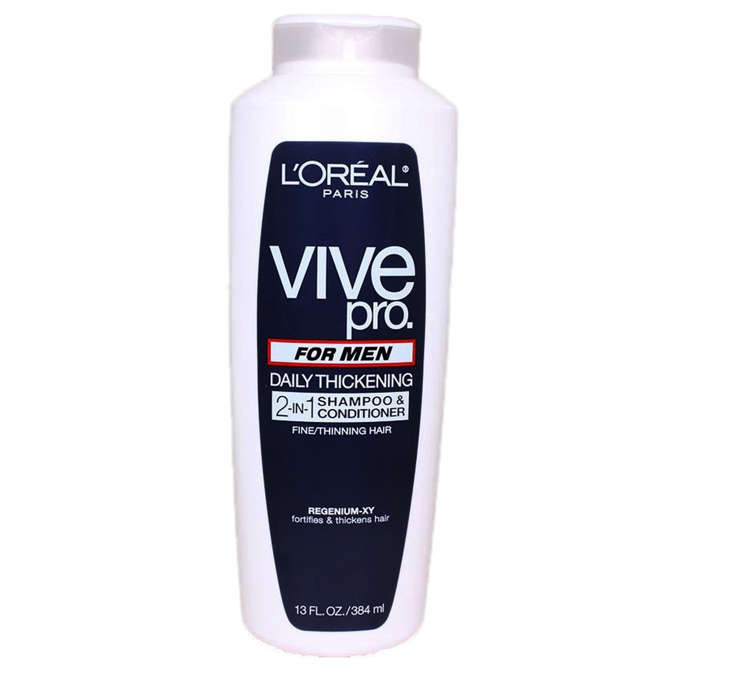 L'Oreal Paris Vive Pro For Men Daily Thickening 2-in-1 Shampoo & Conditioner, 13.0 Fluid Ounce