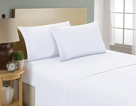 highest quality 1 bed sheets set softest aloe vera infused series bedding set