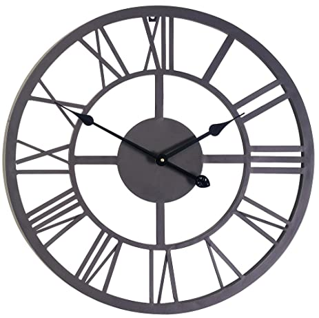 Marvelous Roman Numeral Clock   34cm (13.3u0026quot;)