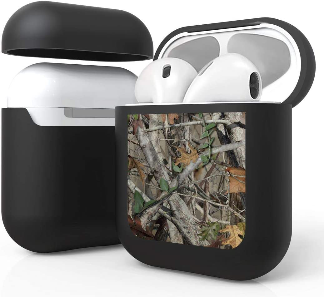 Bemz [Slim Lightweight] Protective Case Cover for Apple AirPods (Gen 1, 2) - Camo Tree