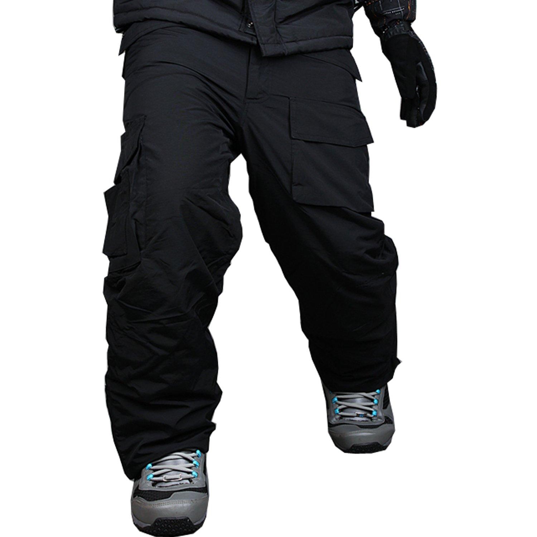 myglory77mall Pantaloni mimetici impermeabili per uomo e snowboard