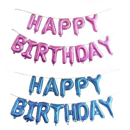 Set de globos Suministros para fiestas Set de cumpleaños ...