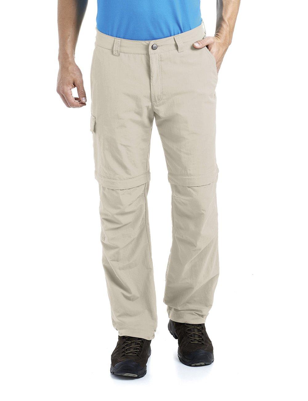 MAIER SPORTS Herren Zipp-Off Hose Trave aus 100% PA in 12 Größen, Funktionshose  Outdoorhose  Wanderhose, abzippbar und schnelltrocknend,
