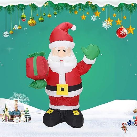 Asdomo - Disfraz hinchable de Papá Noel para fiestas de ...