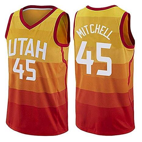 super popular 44952 fe89f TGSCX Camiseta de Baloncesto para Hombre Donovan Mitchell ...