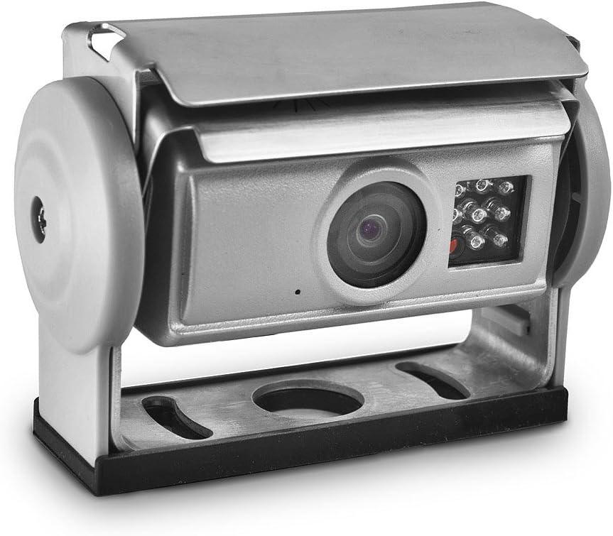 Carmedien Video Rückfahrsystem Cm Skahrfs Mit Shutter Rückfahrkamera Für Anhänger Hänger Trailer 12v 24v Trennbar Auto