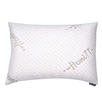 Amazon.com: Homitt Shredded almohada de espuma de memoria ...
