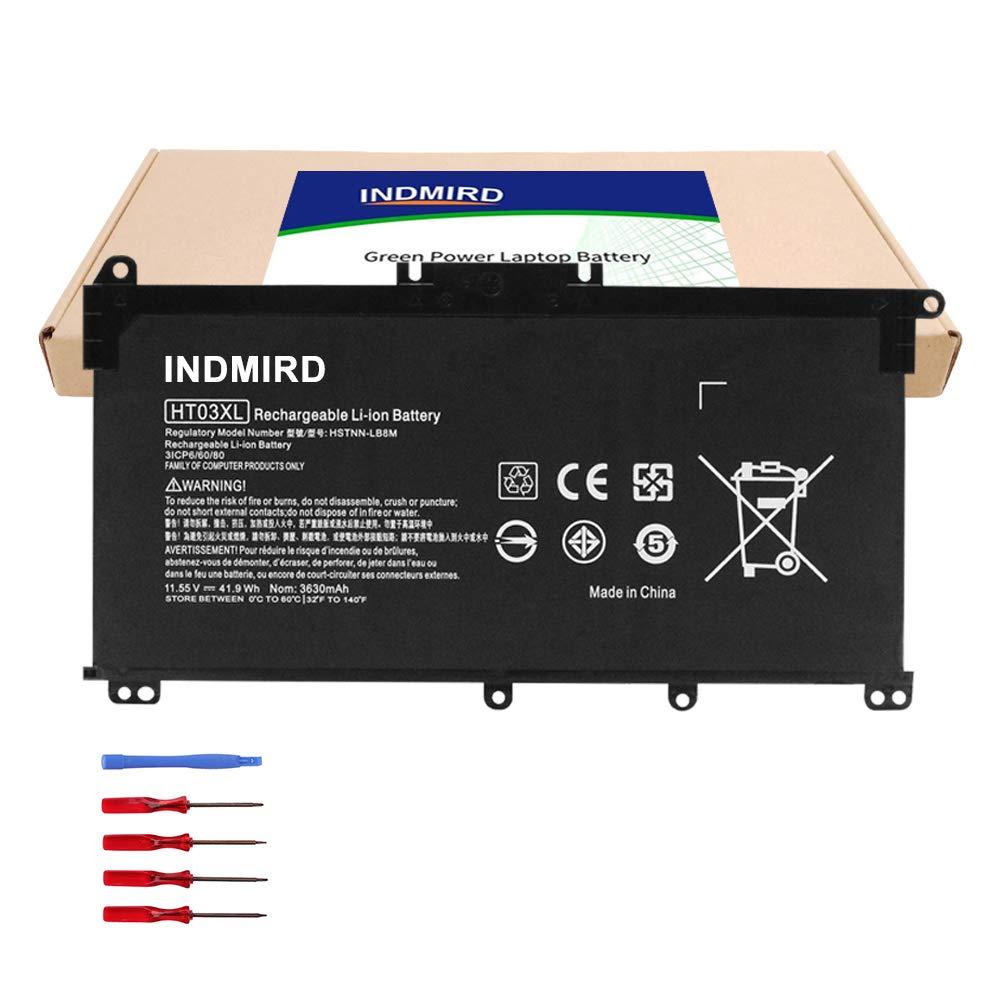 INDMIRD OEM HT03XL Laptop Battery for HP Pavilion 14-CE 14-CF 14-CK 14-cm 15-DA 15-DB 15-CR 15-CW 17-by 17-CA 240 245 250 255 G7,340 348 G5 Replacement L11421-1C1 HSTNN-LB8M L11119-855 11.55V 41.9Wh