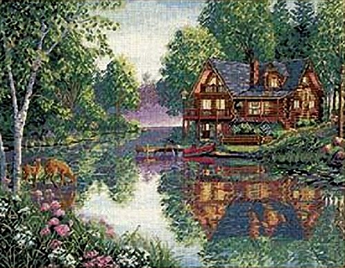 Garden Counted Cross Stitch - 8