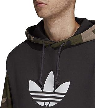 adidas Camo Oth Hoody Hooded Sweat, Hombre, Utility Black, L