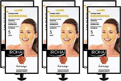 Iroha Nature - Mascarilla Facial en Crema, Hidratante Nutritiva ...