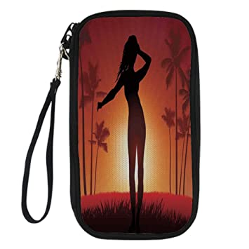 Amazon Com Iprint Girls Silhouette Of Female Human Body In The