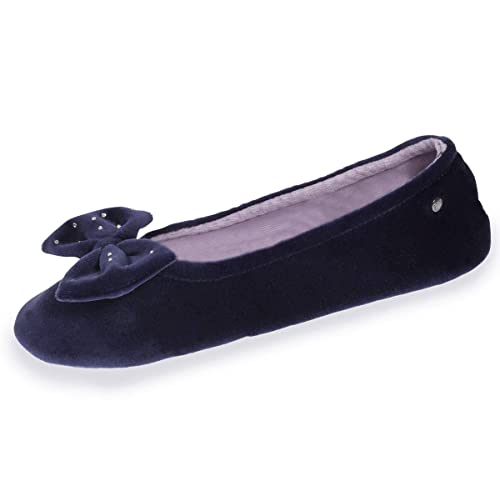030e153bdc634 Isotoner Chaussons Ballerines Femme: Amazon.fr: Chaussures et Sacs