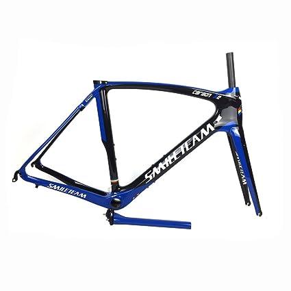 Amazon.com : Smileteam T800 Full Carbon Road Bike Frame Carbon ...