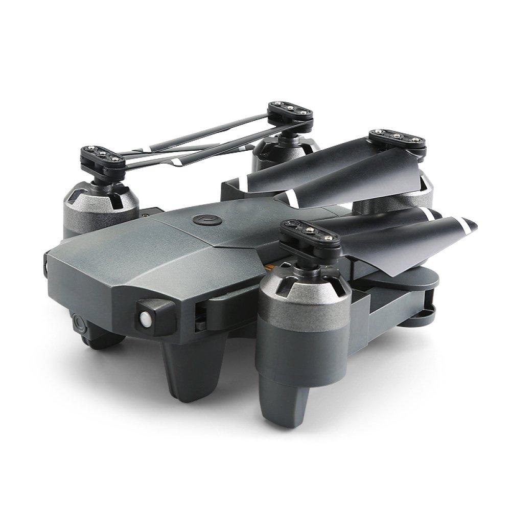 Plegable RC Drone Con Cámara HD 720P WIFI AR 2.4Ghz 6 Axis Gyro Quadcopter Con Altitude Hold Modo Sin Cabeza Y 3D Flips,2Batteries