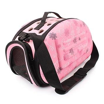 Zhhlaixing Bolsa De Transporte para Mascotas Con Suave Acolchado para Perros/Gatos para avión,
