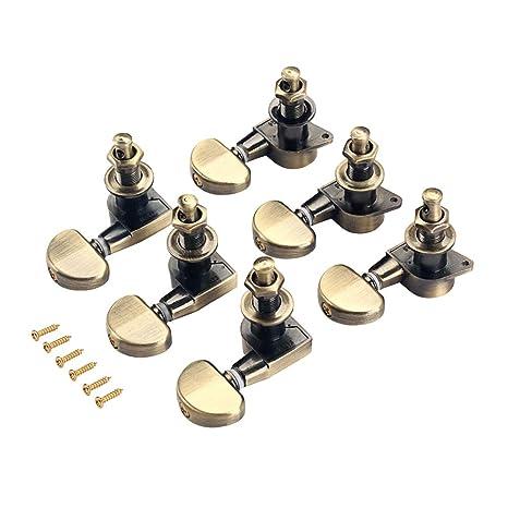 supvox 3L 3R Tuning Pegs sintonizador redondas de guitarra ...