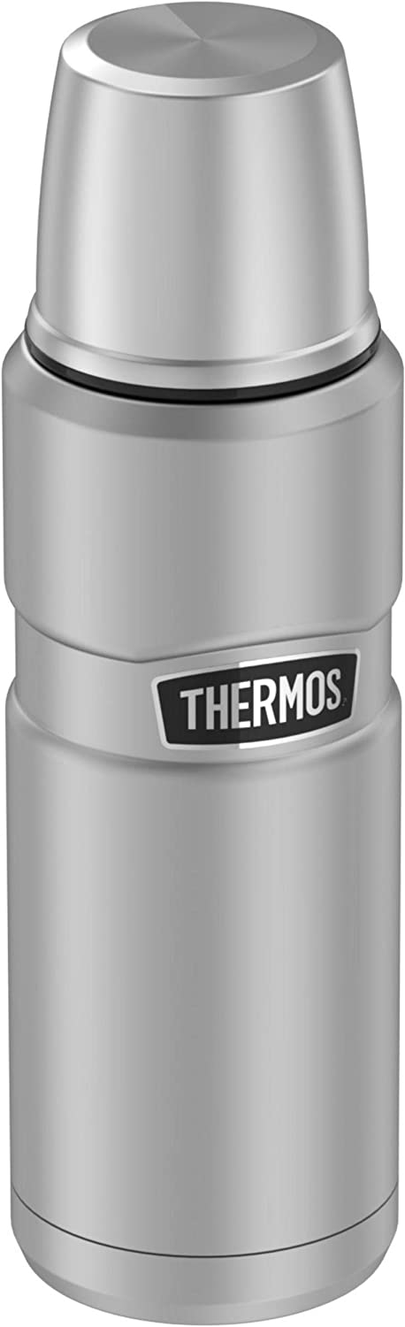 Thermos Sk2000sttri4 Stainless King 16 Ounce Compact Bottle Stainless Steel Gray Amazon Ca Home Kitchen