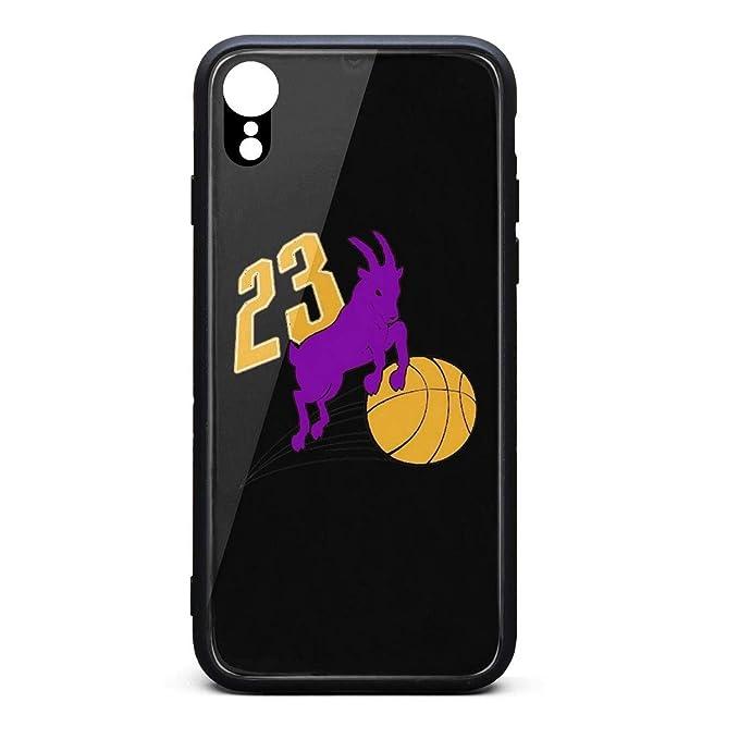 Funda para iPhone XR Goat-23-Basketball con diseño de Baloncesto ...