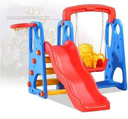 Thole Infantil Toboganes y Columpios Niños Diapositiva Juguetes para Interior/Exterior/Parque/Jardín: Amazon.es: Deportes y aire libre