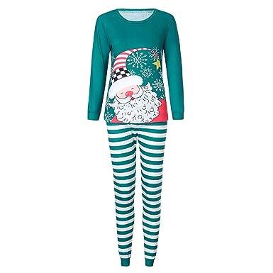 Cebbay Navidad Pijamas de Hombre Cuento de Navidad una Navidad Llena de Amor Conjunto de Arte de impresión 3D de Papá Noel Confortable Calidez otoñal e ...
