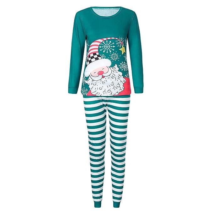 Cebbay Navidad Pijamas de Hombre Cuento de Navidad una Navidad Llena de Amor Conjunto de Arte