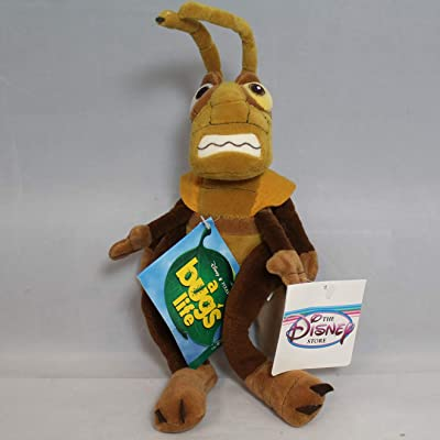 "Out of Production Disney Bugs Life 12"" Hopper Plush Bean Bag Doll Mint with Tags: Toys & Games"