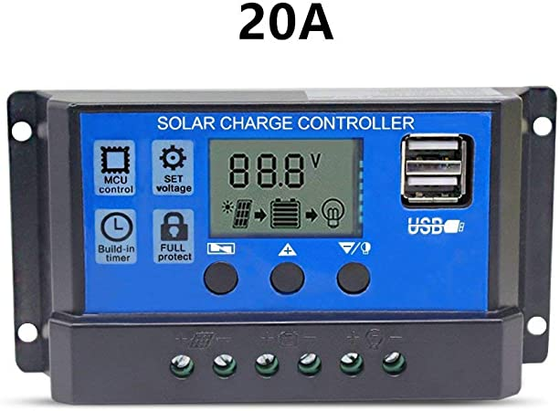 60A MPPT Solar Panel Battery Regulator Charge Controller 12V 24V Auto Switch ZH