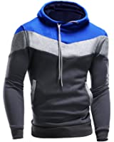 Eleery Casual Souple Sweat à Capuche Veste Pull Pull-over Shirt Homme Casual Sport Automne