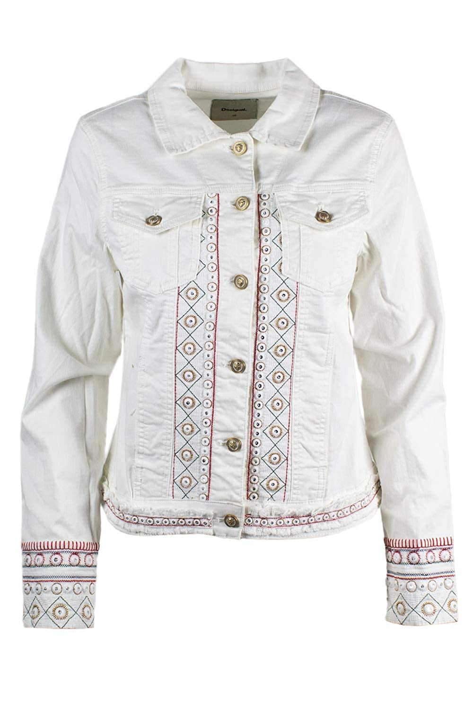 Amazon.com: Desigual Jackets Woman Chaq Pink Boho 19SWEN06 ...