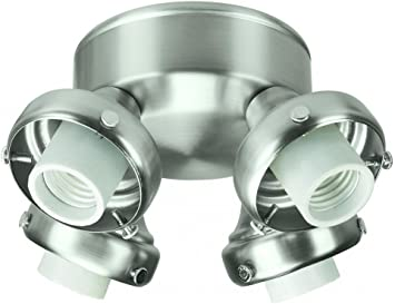 Hunter Prestige 28653 4 Light Adapter 13w Ceiling Fan Light Kits Amazon Com