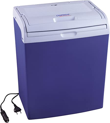 Campingaz 2000013437 Nevera eléctrica, 25 l, Azul, Capacidad 6 Botellas de 2 L