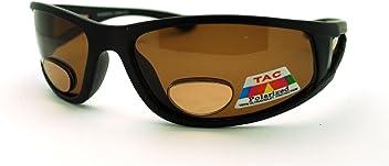 1bbeb2e502 Mens Wrap Around Sport Sunglasses Polarized Plus Bifocal Reading Lens