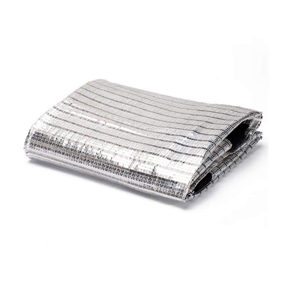 alta qualità e spedizione veloce Xiaolin Schermo ombreggiante Schermatura Riflettente 75% Schermatura Solare Bianco argentoo argentoo argentoo (Dimensioni   2×3M)  punti vendita