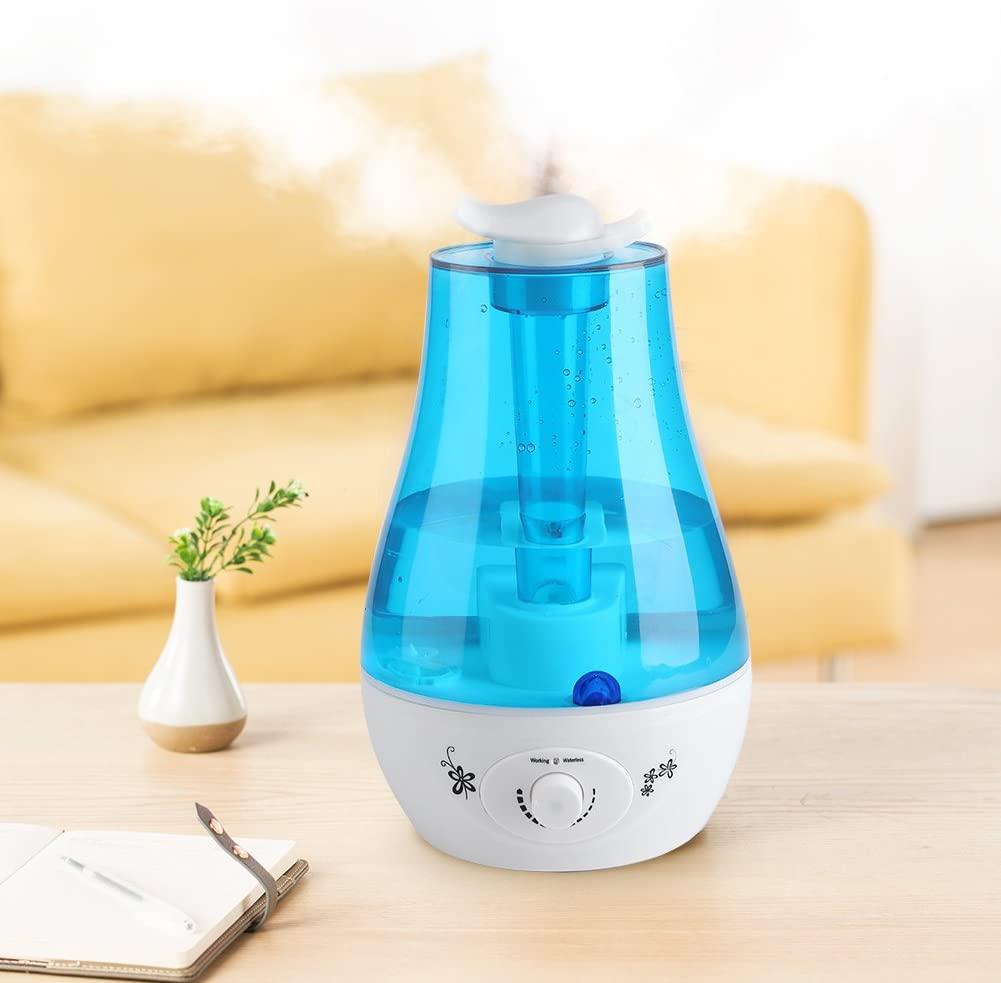 Details about Large Room Ultrasonic Air Humidifier Diffuser Atomizer Cool Mist Home Office 4L