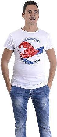 ALMA CUBANA - Camiseta para hombre, diseño de la bandera ...