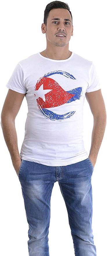 ALMA CUBANA - Camiseta para hombre, diseño de la bandera Cuba de ...