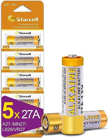 Act A27 12 V Battery 27 A Mn27 V27 A We27 A L828 Elektronik