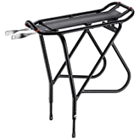 Ibera Bicycle Touring Carrier with Fender Board for Heavier Top & Side Loads