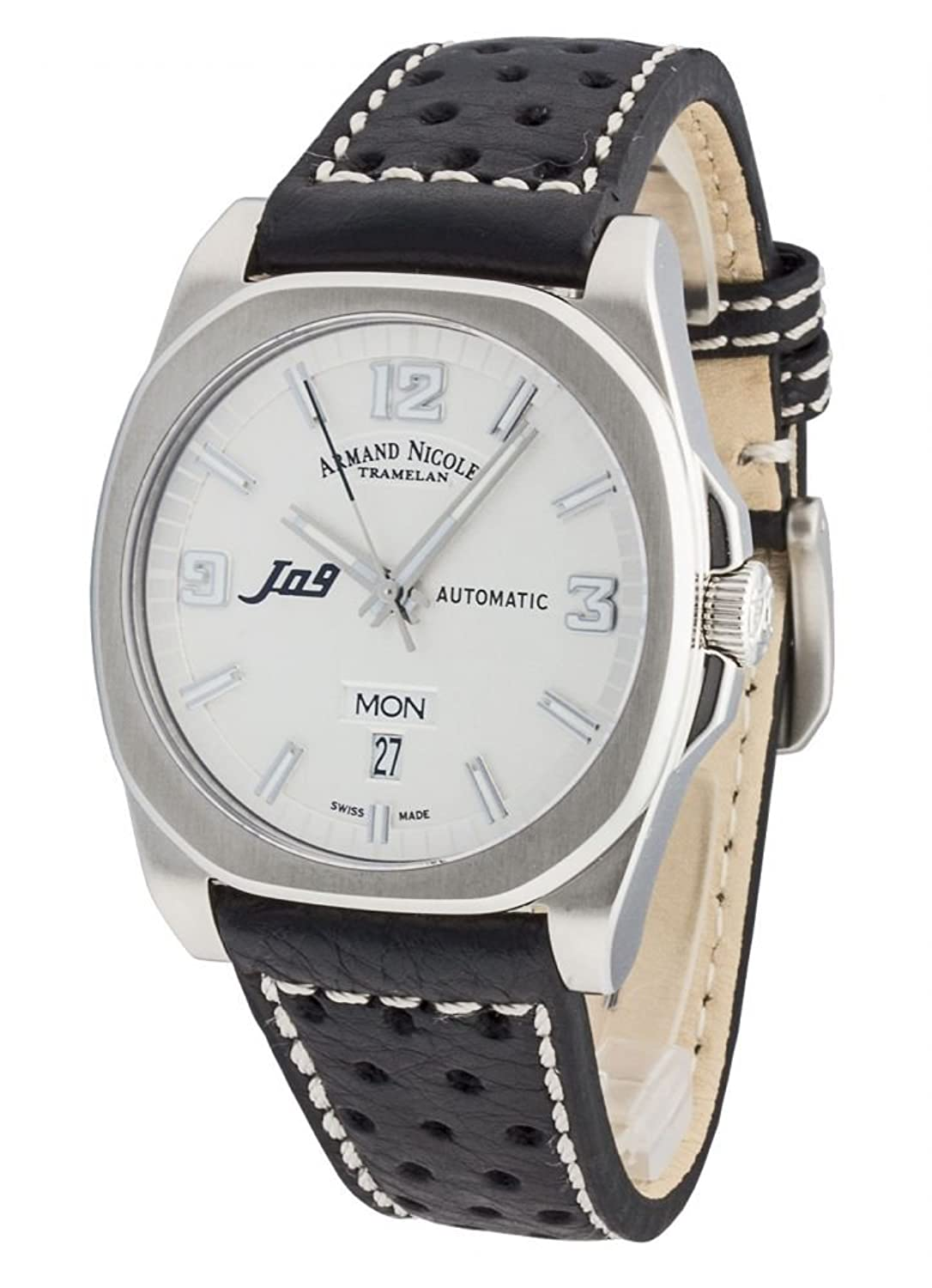 Armand Nicolet J09 Day&Date Automatic 9650A-AG-P660NR2