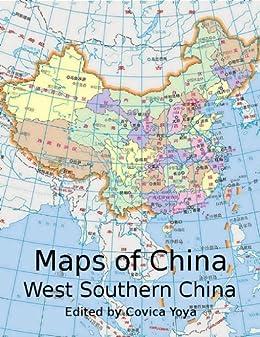 Amazon.com: Maps of China - West Southern China (西南地区, Chongqing on