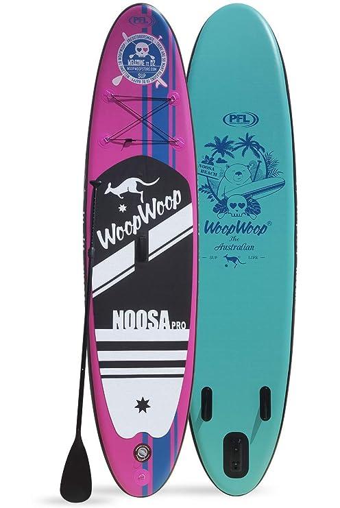 Woop Woop Tabla de Paddle Surf Hinchable Noosa Pro SUPRO93 ...